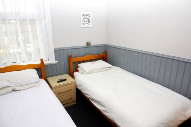 One of our single rooms