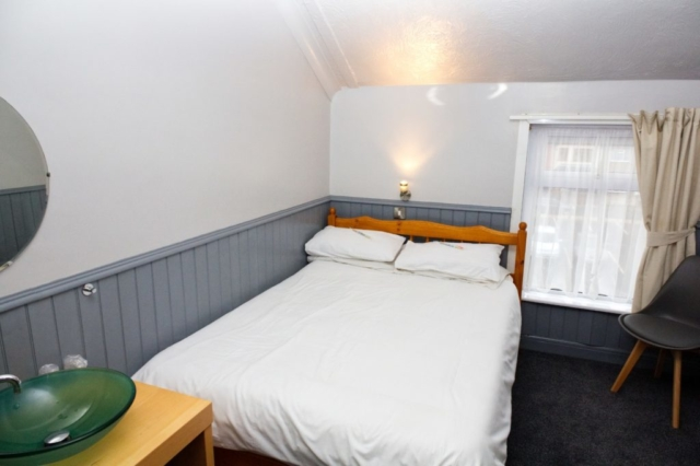 One of our double rooms